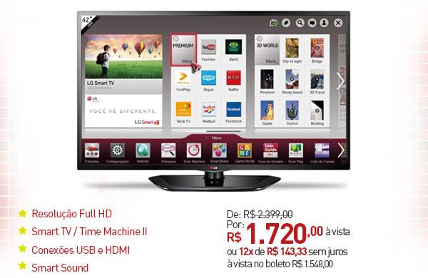 d6b435684 Promoção Novo Mundo  Hoje Especial so com Produtos LG  TV LED 42 e ...