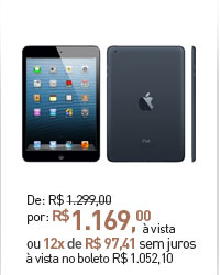 IPAD MINI APPLE 16GB WI-FI PRETO
