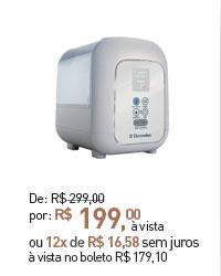 UMIDIFICADOR DE AR ELECTROLUX ULTRA AIR UM05E 4,5 LITROS PRATA BIVOLT