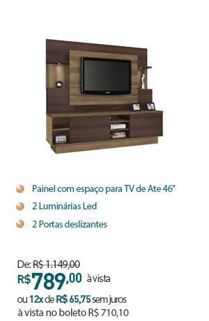 HOME ARON LINEA BRASIL 1159/13 CAPPUCCINO WOOD/ÉBANO