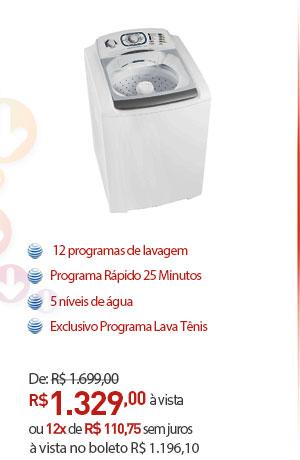 LAVADORA DE ROUPAS ELECTROLUX TURBO CAPACIDADE LT15F SUPERIOR 15 KG BRANCA 220V.
