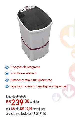 LAVADORA DE ROUPAS COLORMAQ LCM 5,0KG BRANCA 220V