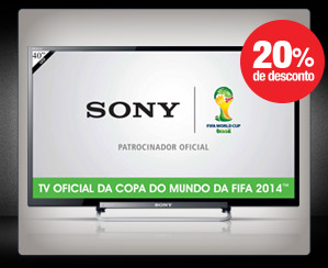 TV LED 40 POLEGADAS SONY KDL-40R485A