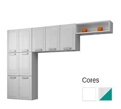 Cozinha em Aço 3 Peças - Itatiaia Luce
