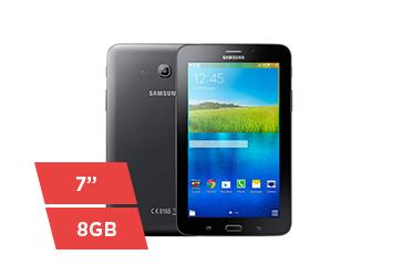 """Tablet Samsung Galaxy Tab 3 Lite, Tela 7"""" Capacitiva, 8GB, Wi-Fi, Preto - T113"""