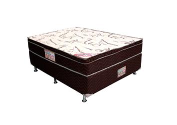 Cama Box Casal Molas Pocket Tecido em Viscose de Bambu 138x188cm - Novo Mundo Fascinação