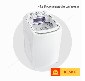 Lavadora de Roupas Electrolux, 10,5kg, Branca - LAC11