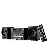 Mini-System Multilaser com DVD Player USB Rádio FM Karaokê Preto - SP141