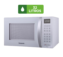 Micro-ondas Panasonic 32 Litros Branco - NN-ST654W