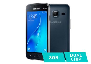 Smartphone Samsung Galaxy J1 Mini, Dual Chip, 8GB, Preto - SM-J105D