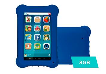 Tablet Multilaser Kid Pad, Android 4.4, 8GB, 512MB, Azul - NB194