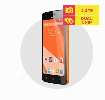 Smartphone Blu Studio 5.0 CE Dual Chip Dual Core Câmera 3.2 MP Laranja