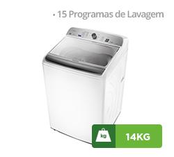 Lavadora de Roupas Panasonic 14kg, Branca - NA-F140B5W