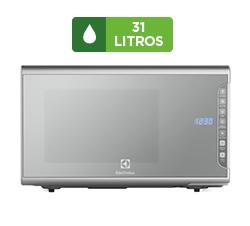 Micro-ondas Electrolux 31 Litros, Prata - MI41S