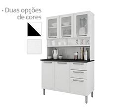Kit Cozinha Aço Itatiaia Regina, 6 Portas e 2 Gavetas - I3VG2