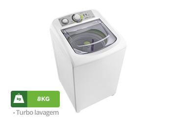 Lavadora Consul Facilite 8kg, Branca - CWE08