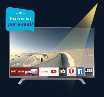 Smart TV Led Semp Toshiba 43, Full HD, USB, HDMI - 43L2500