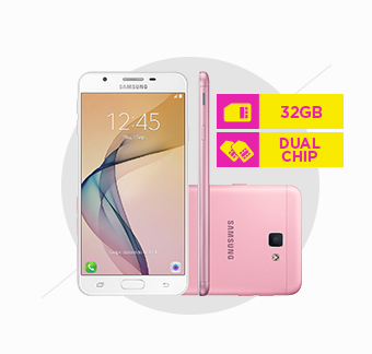 Smartphone Samsung Galaxy J7 Prime 4G, Dual Chip, Octa Core, 32GB, Rosa - G610M