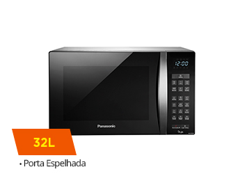 Micro-ondas Panasonic 32L Style, Inox - NN-ST674SRU