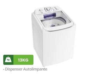 Lavadora de Roupas Electrolux, 13kg, Branca - LAC13