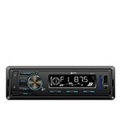 Auto Rádio Lenoxx, FM, MP3, Entradas USB e SD - AR604