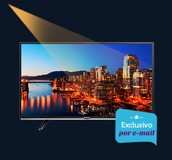 Smart TV LED Panasonic 40, Full HD, USB e Wi-Fi - TC40DS600B