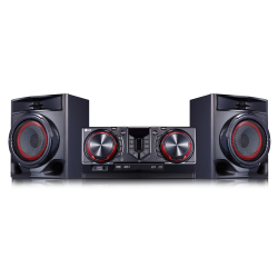 Mini System LG, 440W, Rádio, USB, Bluetooth - CJ44