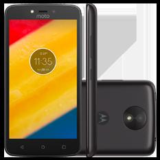 Smartphone Motorola Moto C Plus, 16GB, 1GB, Quad-Core, Preto - XT1726