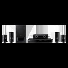 Home Theater Samsung com Blu-Ray, 1000W, 3D, 5.1 Canais - HTJ5520WK