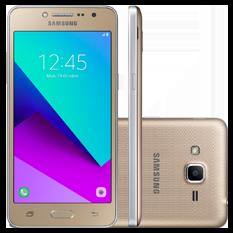 Smartphone Samsung J2 Prime, Quad-Core, Dual Chip, Câmera 8MP, 16GB, Dourado - G532M
