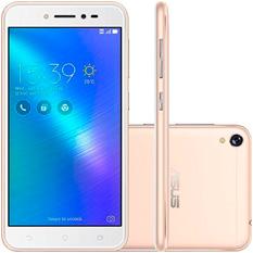 Smartphone Asus Zenfone Live 16GB, Dual Sim, Quad-Core, Dourado - ZB501KL