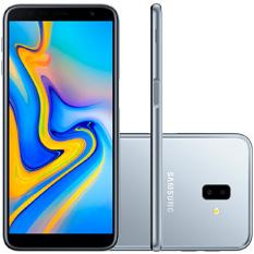 Smartphone Samsung Galaxy J6 Plus, Câmera Traseira Dupla, Quad-Core, 32GB, Prata - SM-J610G