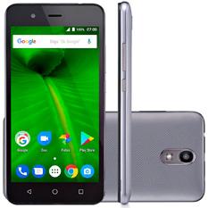 Smartphone Multilaser MS50L, Câmera 8MP, 8GB, Quad-Core, Grafite / Preto - NB719