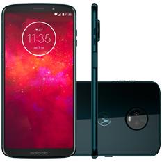 Smartphone Motorola Moto Z3 Play, Câmera Traseira Dupla, 64GB, Índigo - XT1929-5