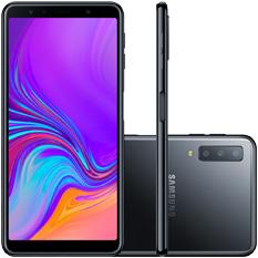 Smartphone Samsung Galaxy A7, Câmera Traseira Tripla, Octa-Core, 64GB, Preto - SM-A750G